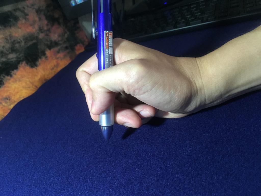 ペンの持ち方1