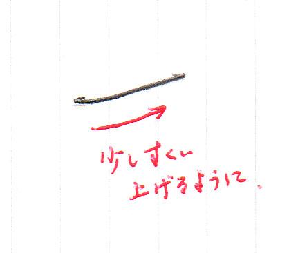 「ち」1画目の書き方