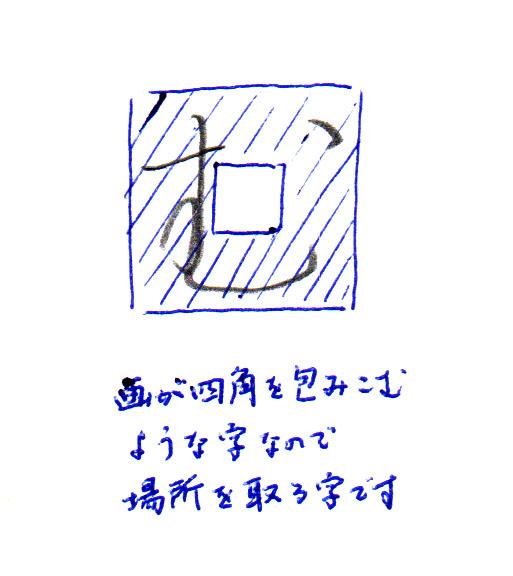 「む」シルエット2