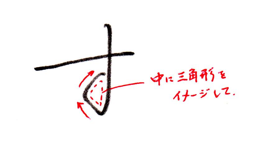 2画目の書き方2
